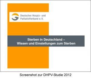 Screenshot Studie zum Sterben in Deutschland: Sterben und Tod kein Tabu mehr 2012