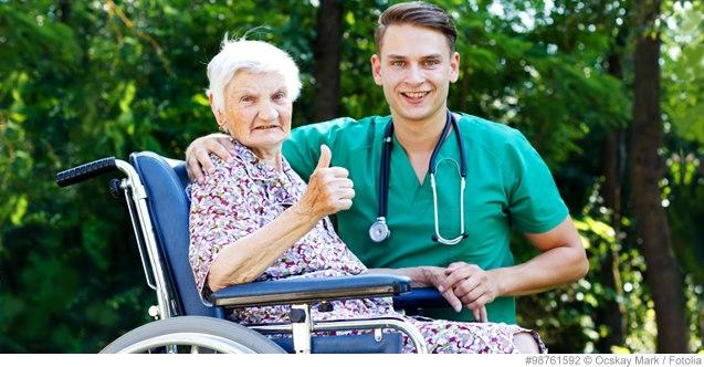 menschenwürdige Pflege contra Sterbehilfe