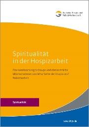 Cover DHPV-Broschüre zu Spiritualität in der Hospizarbeit
