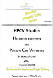 Cover HPCV-Studie 2007