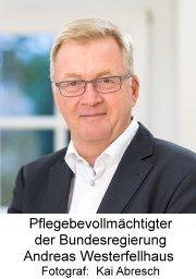 Pflegebevollmächtigter der Bundesregierung Andreas Westerfellhaus
