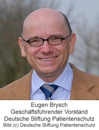 E. Brysch, Deutsche Stiftung Patientenschutz