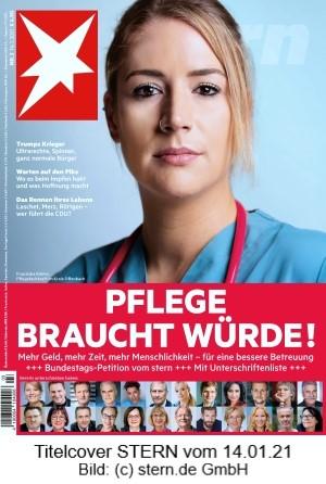 STERN-Titelcover 14.01.21 zur Pflege-Petition