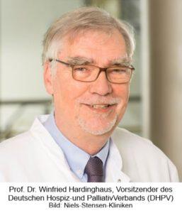 Prof. Dr. Winfried Hardinghaus, Vorsitzender Deutscher Hospiz- und PalliativVerband e.V (DHPV)
